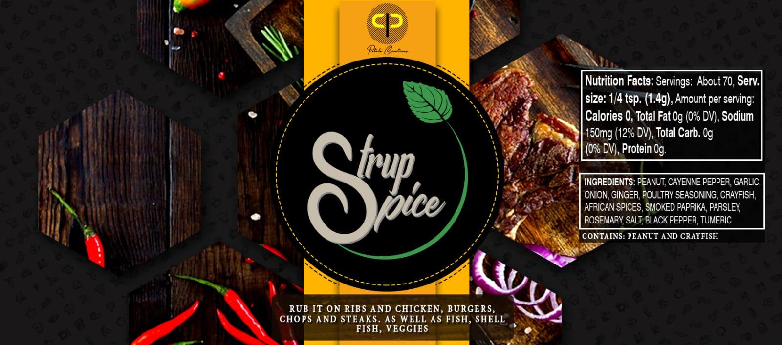 Strup Spice Nutritional Facts